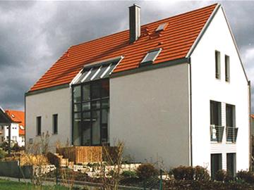 Neubau Niedrigenergiehaus Herzogenaurach